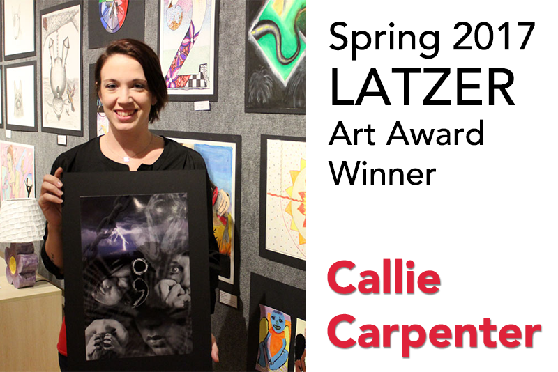 Carpenter is Recipient of Latzer Art Award