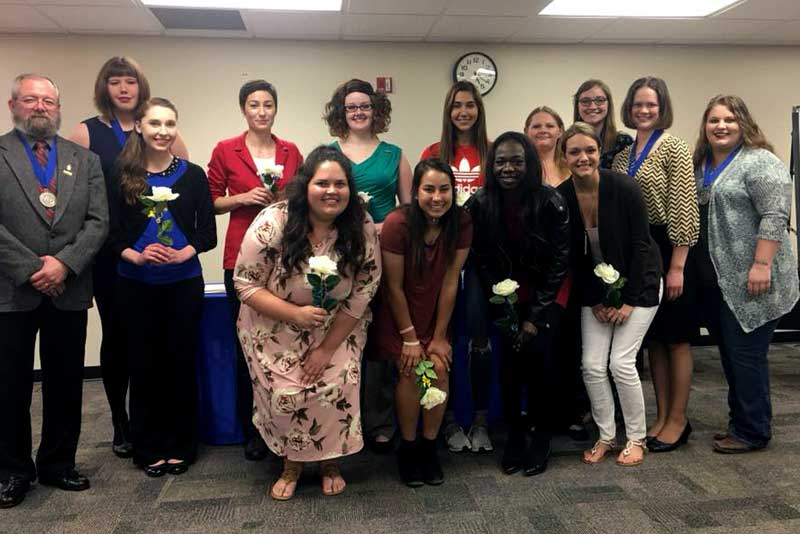 Tau Theta Chapter Inducts New Members