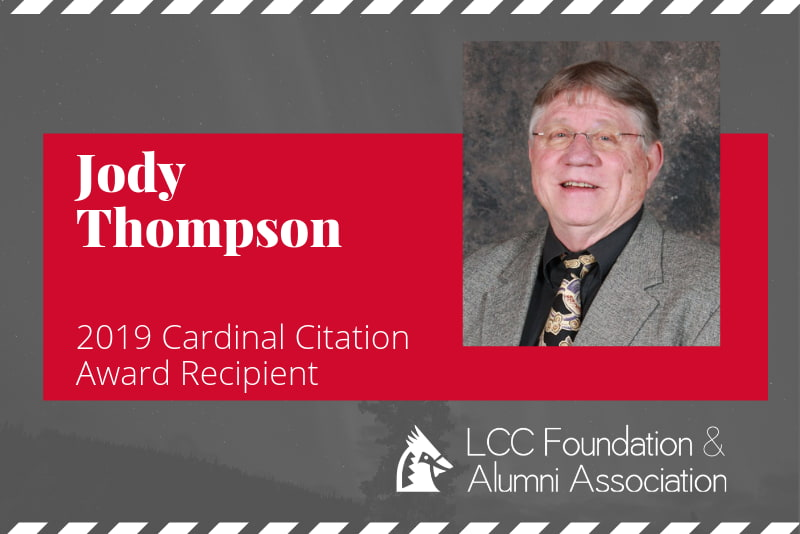 Thompson Named 2019 LCC Cardinal Citation Recipient