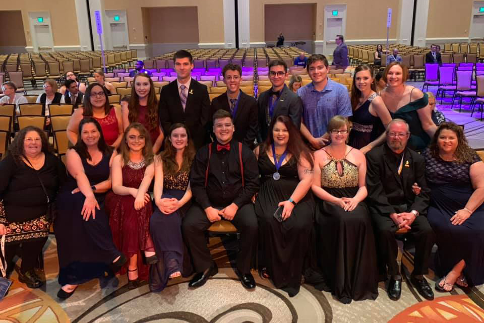 LCC PTK Earns Top Honors at International Convention