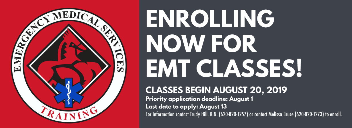 Now Enrolling for EMT Classes