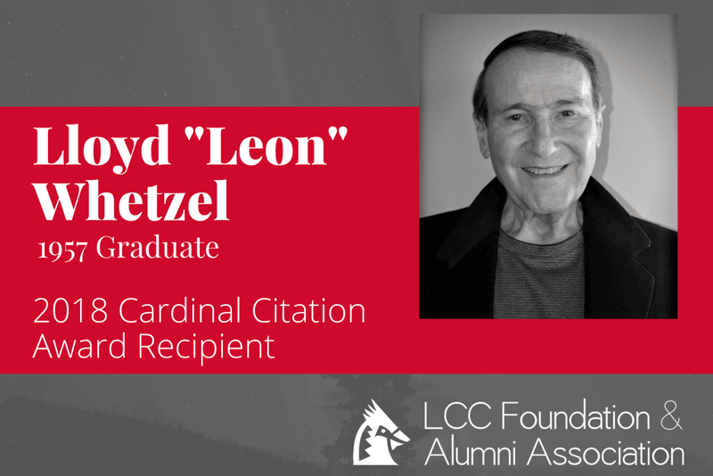 Whetzel named 2018 Cardinal Citation Recipient