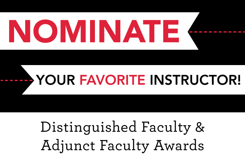 Distinguished Faculty Awards
